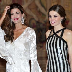 Letizia Ortiz con la first lady argentina: è sfida di look