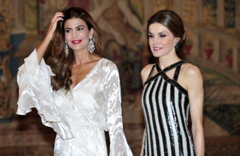 Letizia Ortiz incontra la first lady argentina: è sfida di look