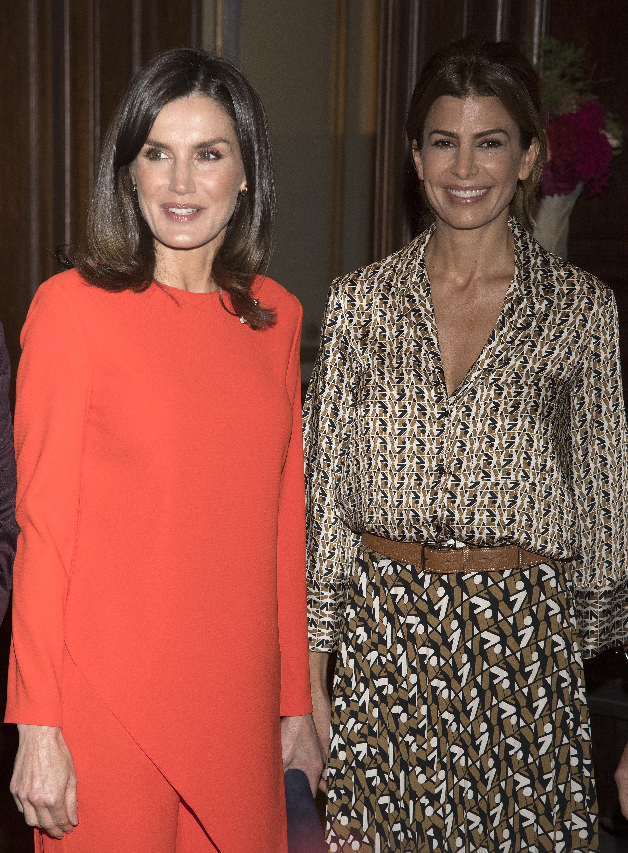 Letizia Ortiz sceglie un abito Zara