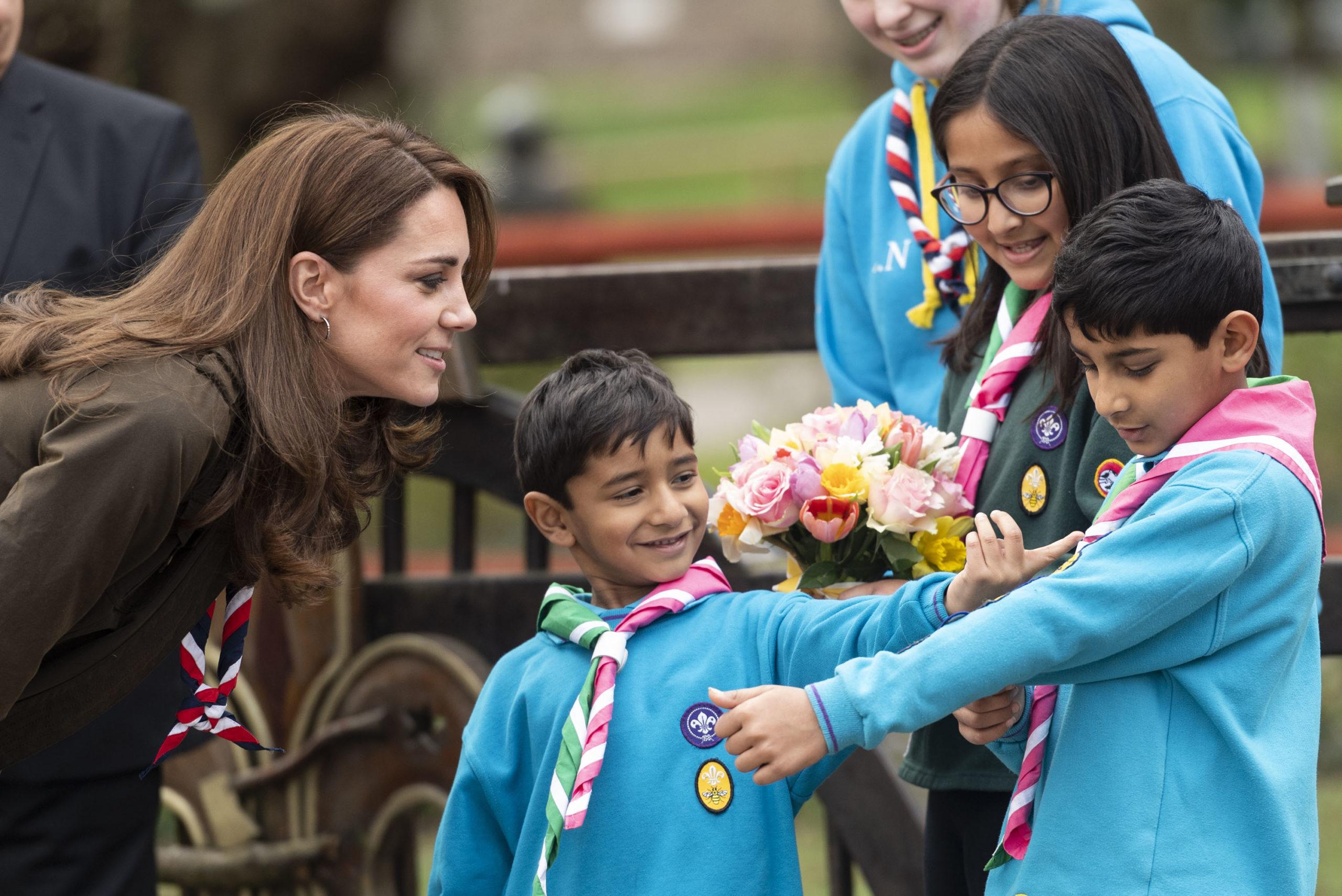 Kate Middleton e il look scout riciclato