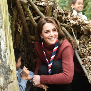 Kate Middleton: scout con stile!