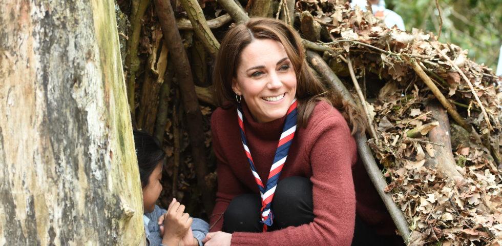 Kate Middleton look da scout ma con stile!