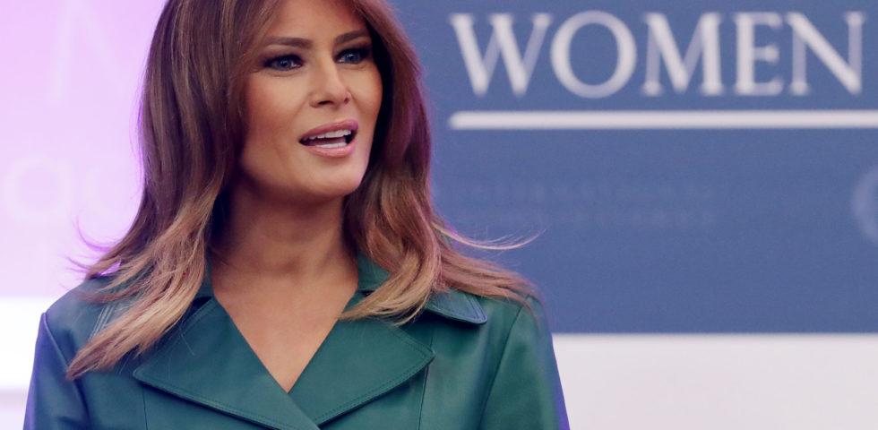 Melania Trump selfie storico con la First Lady venezuelana