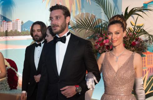 Beatrice Borromeo e Pierre Casiraghi innamorati al Ballo della Rosa 2019