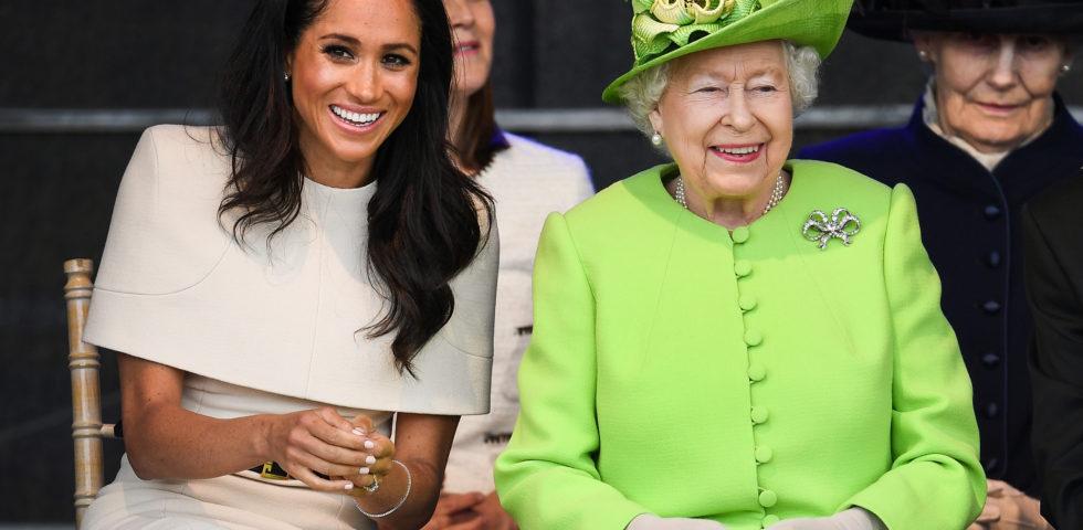 La Regina Elisabetta fa visita a Meghan Markle prima del parto