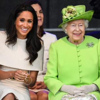 La Regina fa visita a Meghan prima del parto