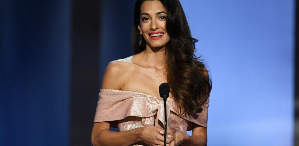 Amal Clooney contro Donald Trump in difesa della libertà di stampa