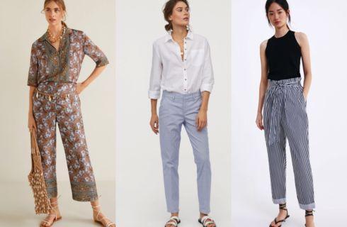 Pantaloni moda 2019: modelli e tendenze per la Primavera-Estate