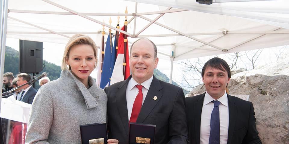 Charlene di Monaco e il principe Alberto insieme per onorare Grace Kelly