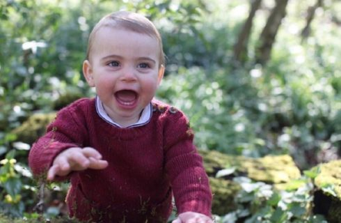 Kate Middleton scatta le foto di Louis di Cambridge per il 1° compleanno