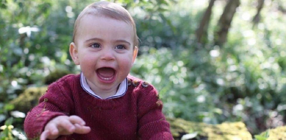 Kate Middleton scatta le foto di Louis di Cambridge per il 1° compleanno