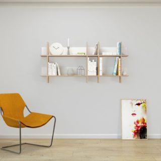 Mensole per il salotto: 8 proposte di design