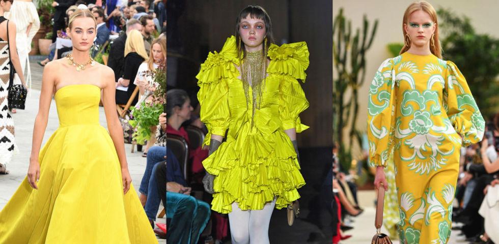 Vestito giallo: gli abbinamenti perfetti