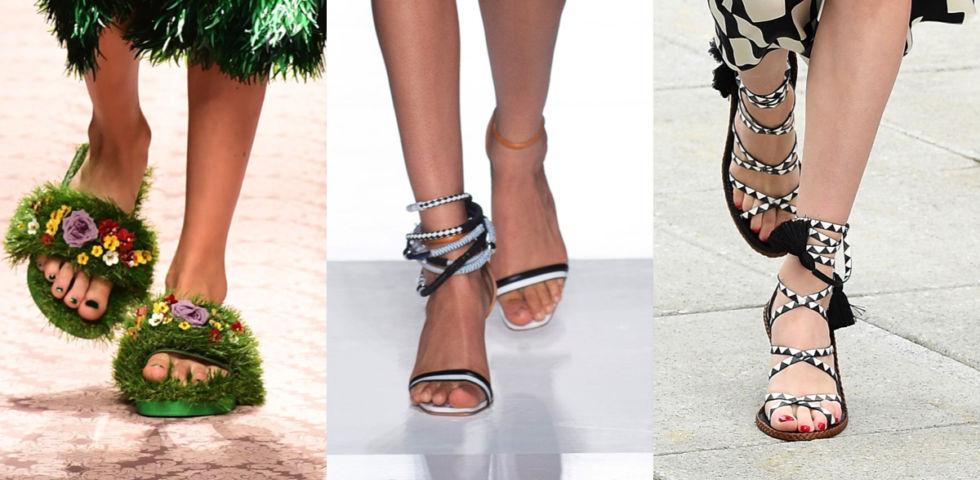 Smalto piedi: colori e tendenze dell'estate 2019