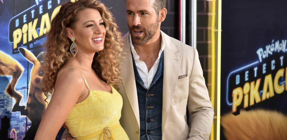 Blake Lively e Ryan Reynolds, la prima foto della terza figlia