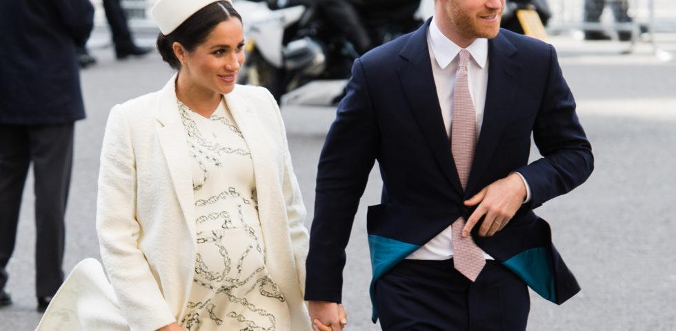 Meghan Markle e Harry genitori: il Royal Baby è maschio