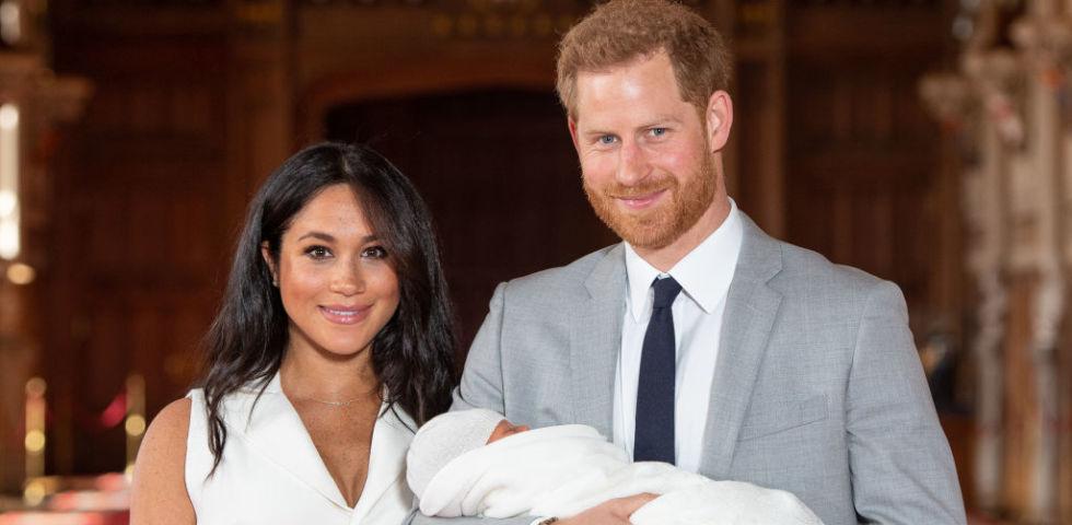 Battesimo Archie Harrison: chi sono i padrini segreti scelti da Meghan e Harry