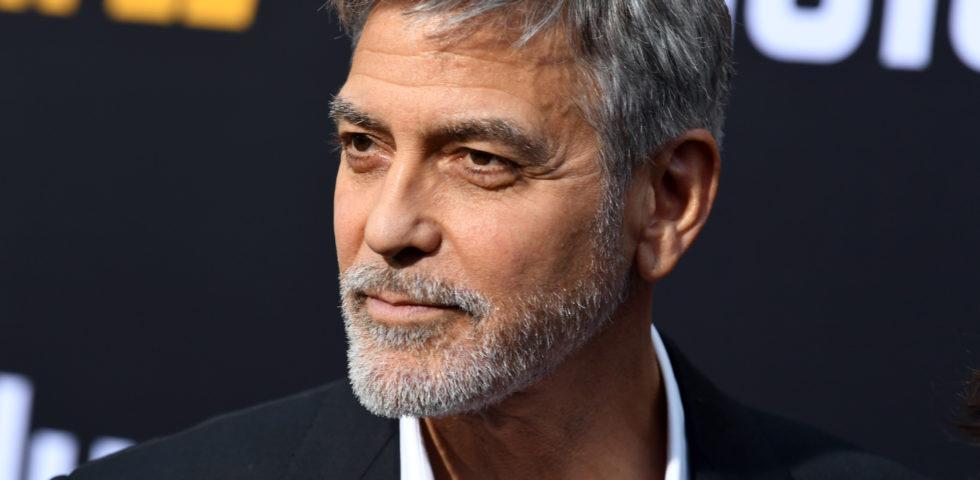 George Clooney alle Canarie per le riprese del nuovo film