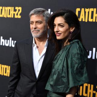 I figli di George e Amal Clooney parlano italiano