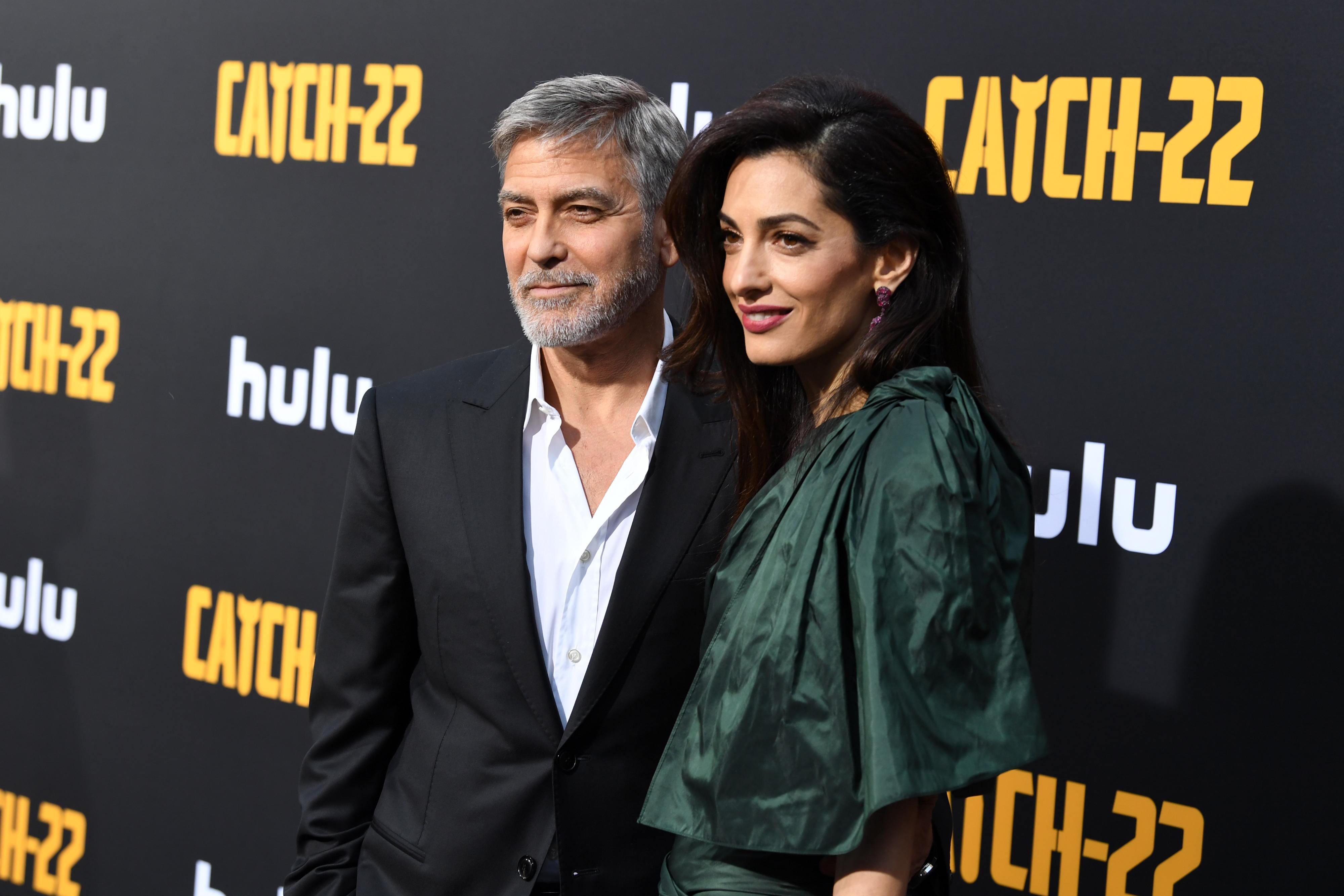 George Clooney parla dei suoi figli