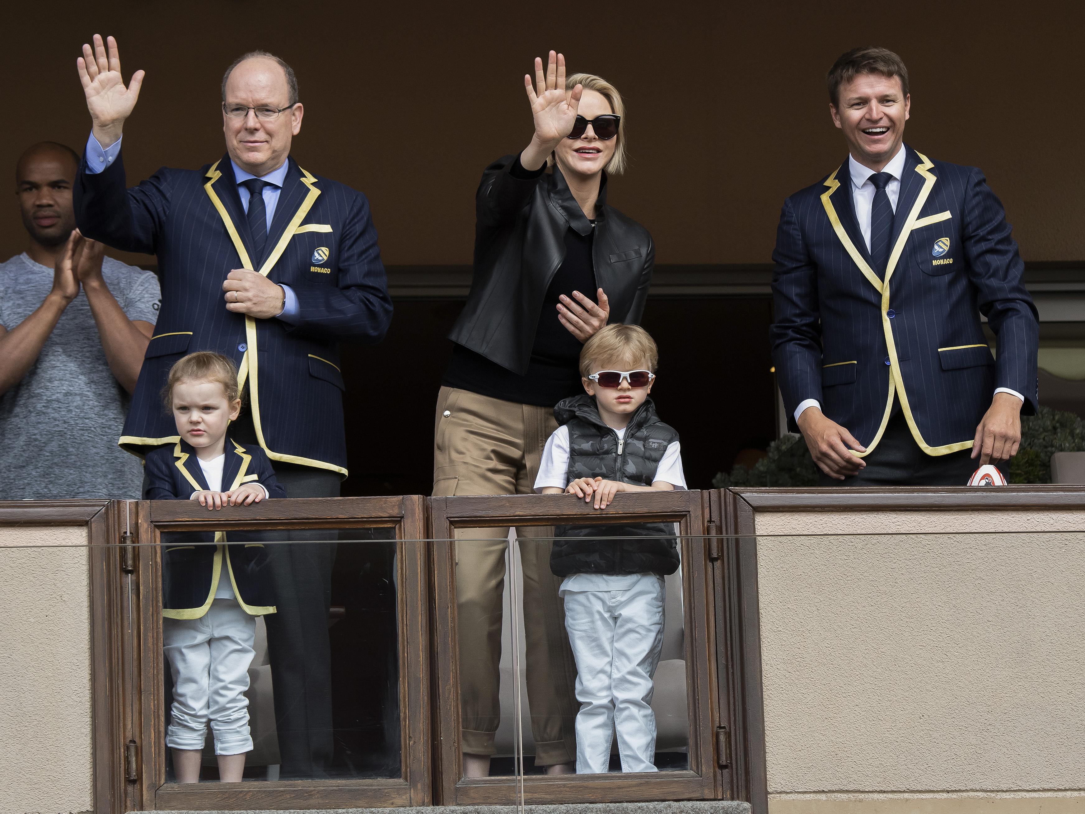 I gemelli di Monaco, che look!