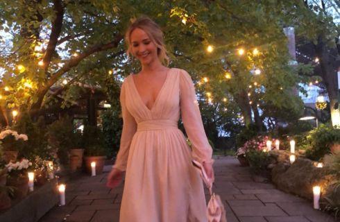 Jennifer Lawrence: look da sogno per la festa di fidanzamento