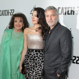 George Clooney: red carpet a Londra con Amal e la suocera