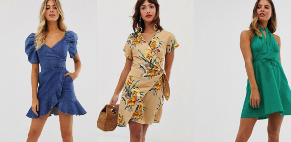 elegante stile squisito come comprare Vestiti corti: le proposte Asos, Zara e H&M | DireDonna