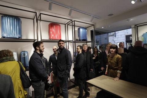Vip al nuovo show room Roncato a Roma, le foto