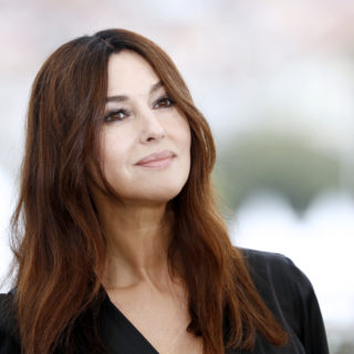 Monica Bellucci in D&G per la Fashion Week