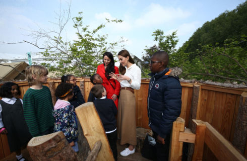 Kate Middleton al Chelsea Flower Show: come copiare il look casual