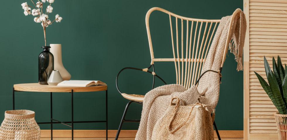 Rattan: soluzioni di design giardino e interni