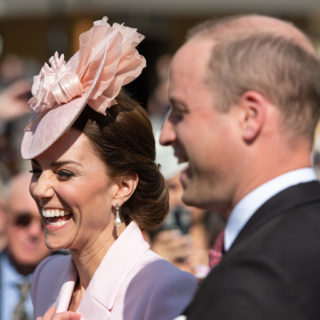 Kate Middleton in total pink al Garden Party