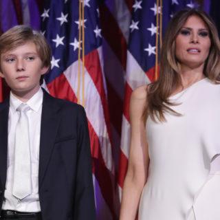 Melania Trump: trattamento anti età per il figlio Barron