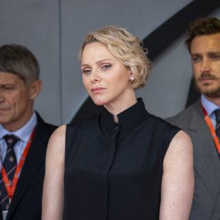 Charlene: Principessa triste al matrimonio di Louis Ducruet