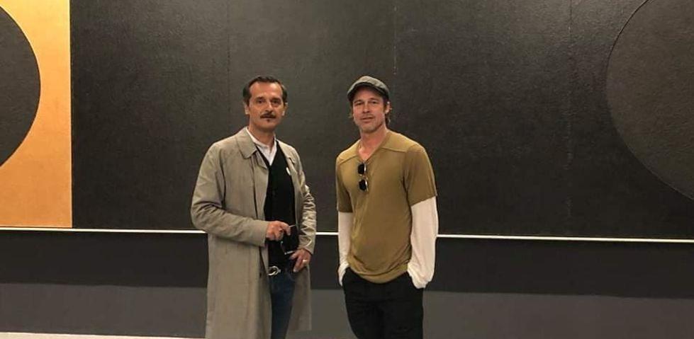 Brad Pitt a Venezia per visitare la Biennale 2019 (foto)
