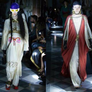 La sfilata Gucci ai Musei Capitolini