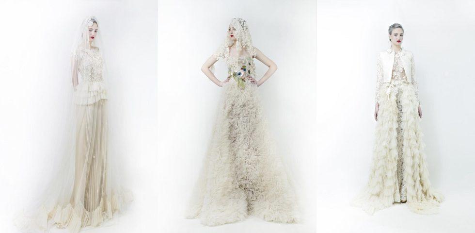 Abiti da sposa Elisabetta Delogu: collezione 2020