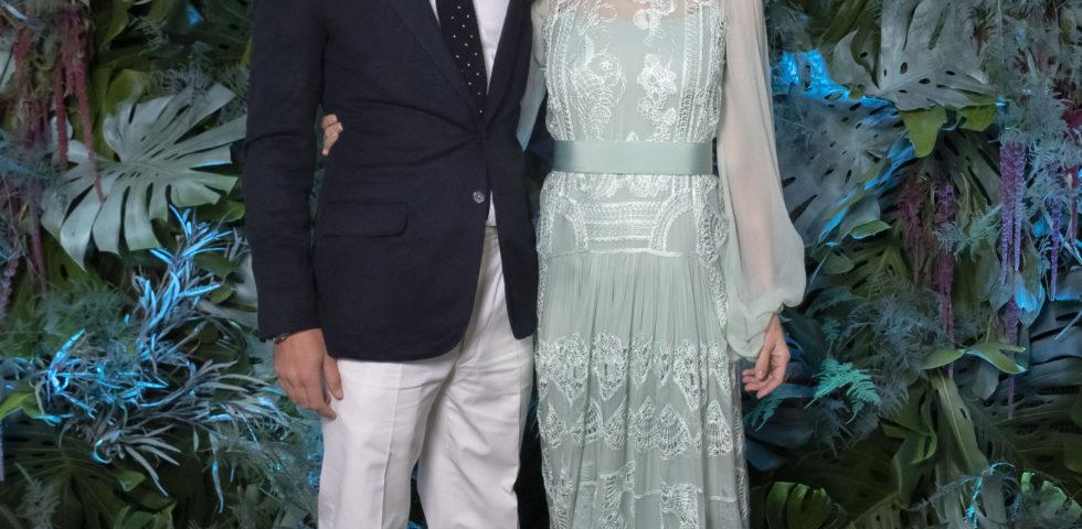 Beatrice Borromeo in Dior al matrimonio di Charlotte Casiraghi
