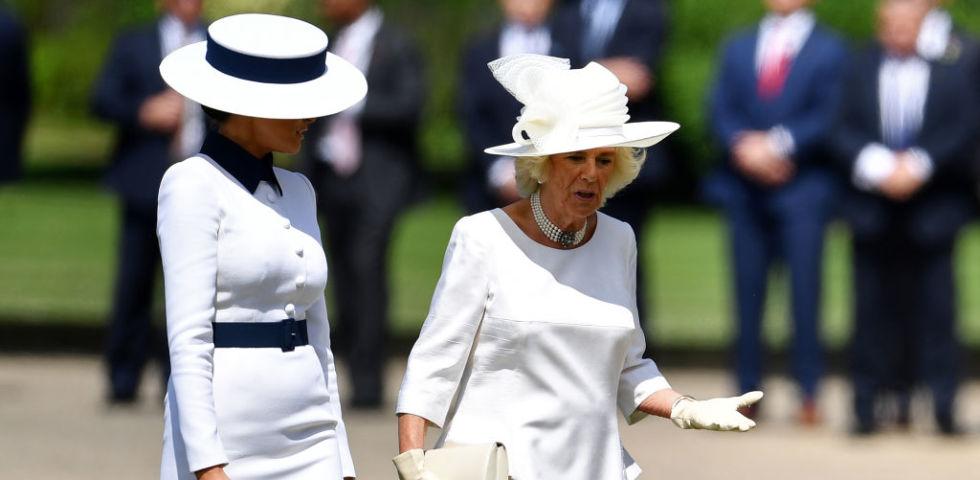 Melania Trump sceglie Dolce&Gabbana per incontrare la Regina Elisabetta