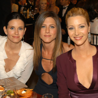 Friends: mini reunion per il compleanno di Courteney Cox