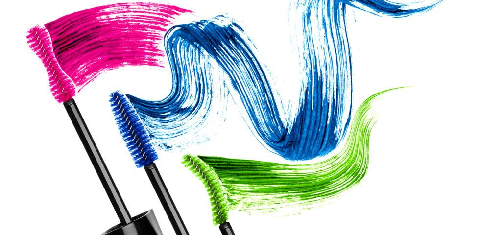 Mascara colorati: novità 2019