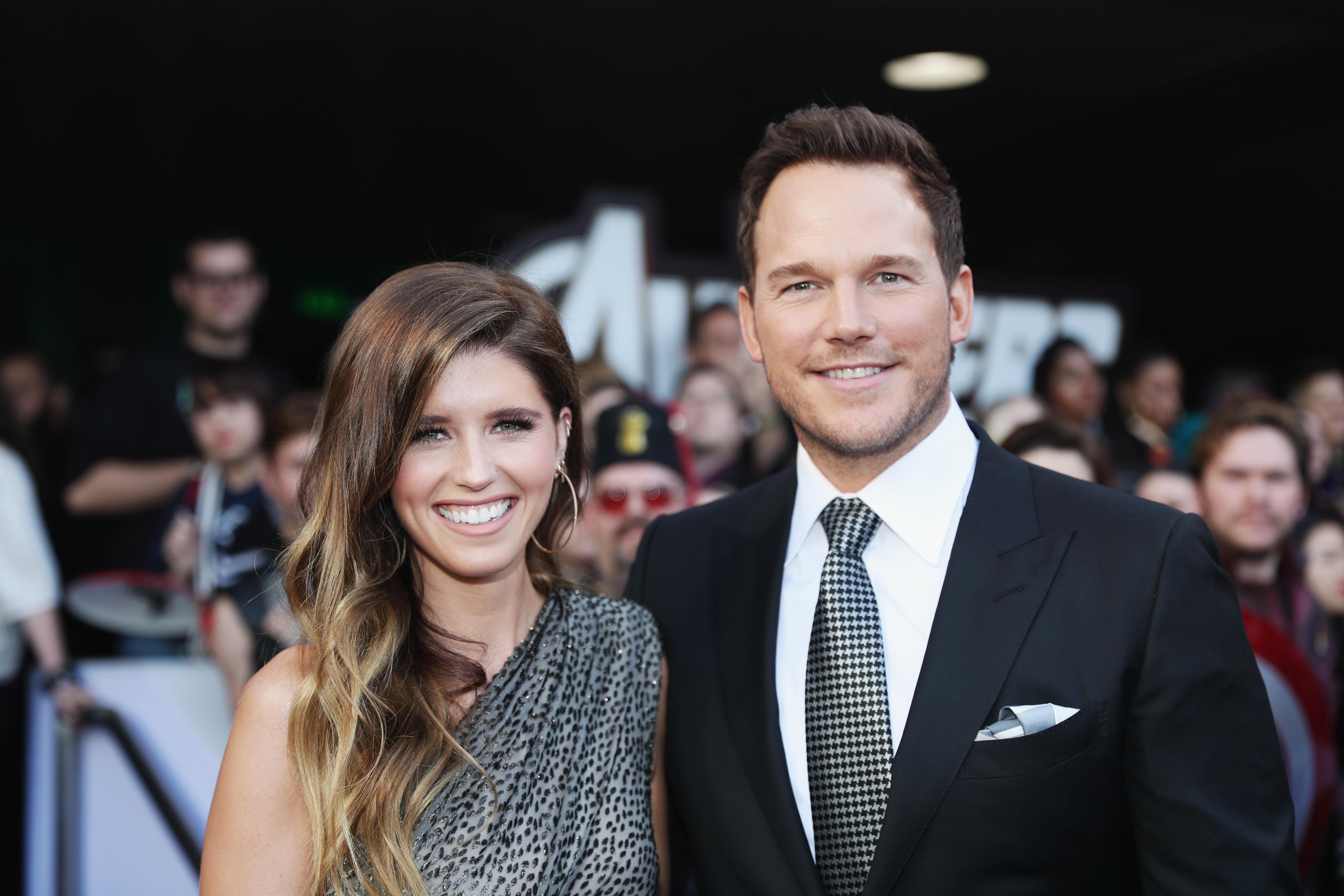Katherine Schwarzenegger e Chris Pratt sposi