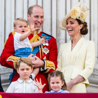 Kate Middleton: George ama la natura, Louis i trattori