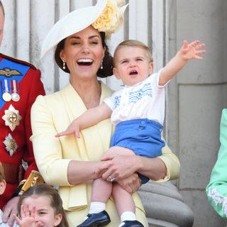 Principe Louis: debutto da protagonista alla parata