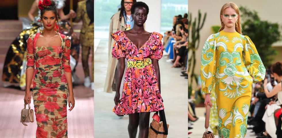 Vestiti stampa floreale: 10 idee per l'estate 2019