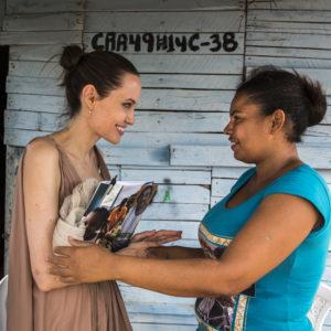 Angelina Jolie: appello per la pace in Siria