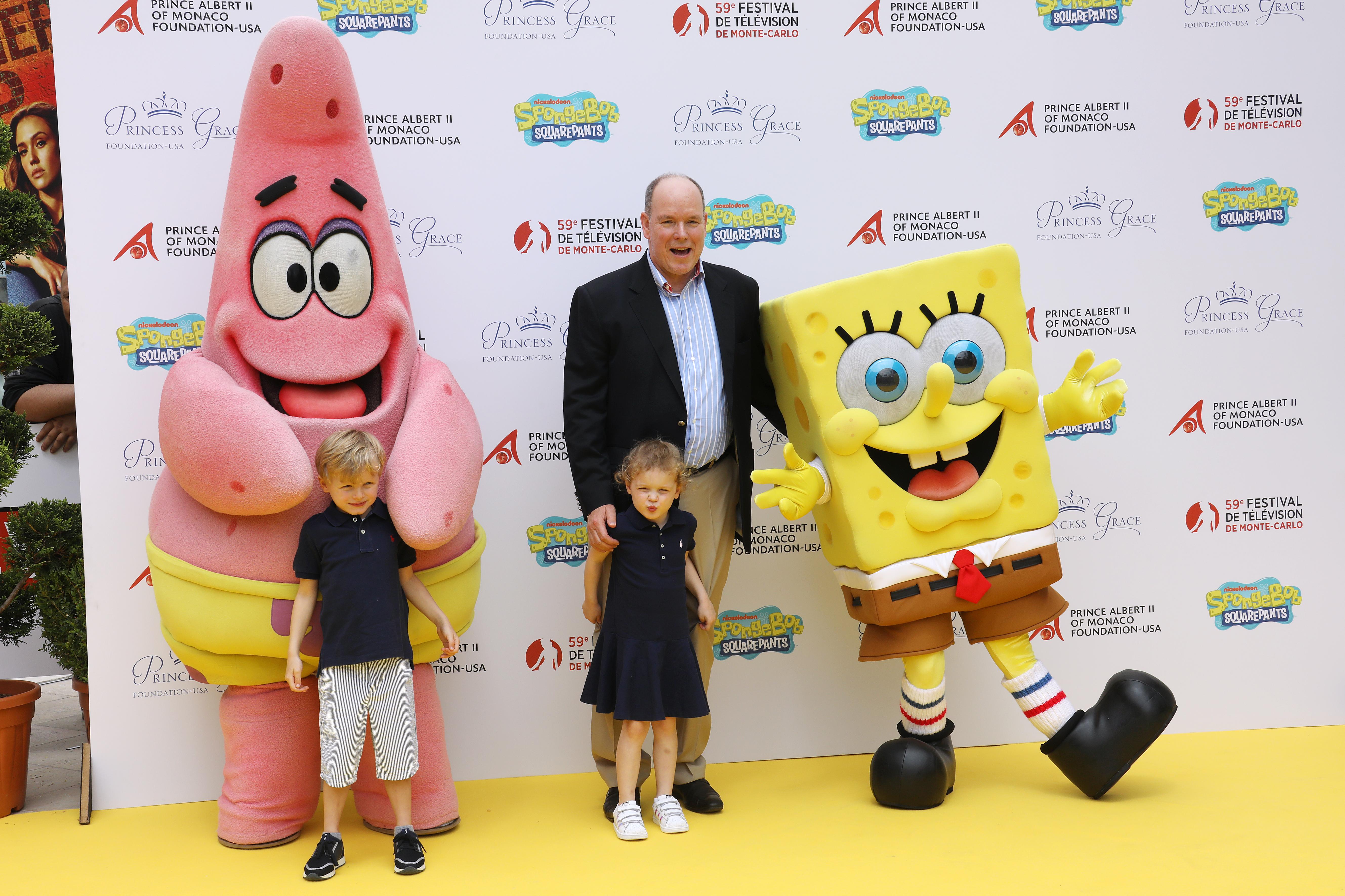 I gemelli di Monaco incontrano SpongeBob