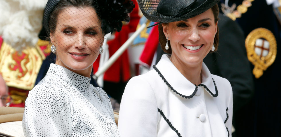 Letizia Ortiz Vs Kate Middleton: Regine di stile a confronto