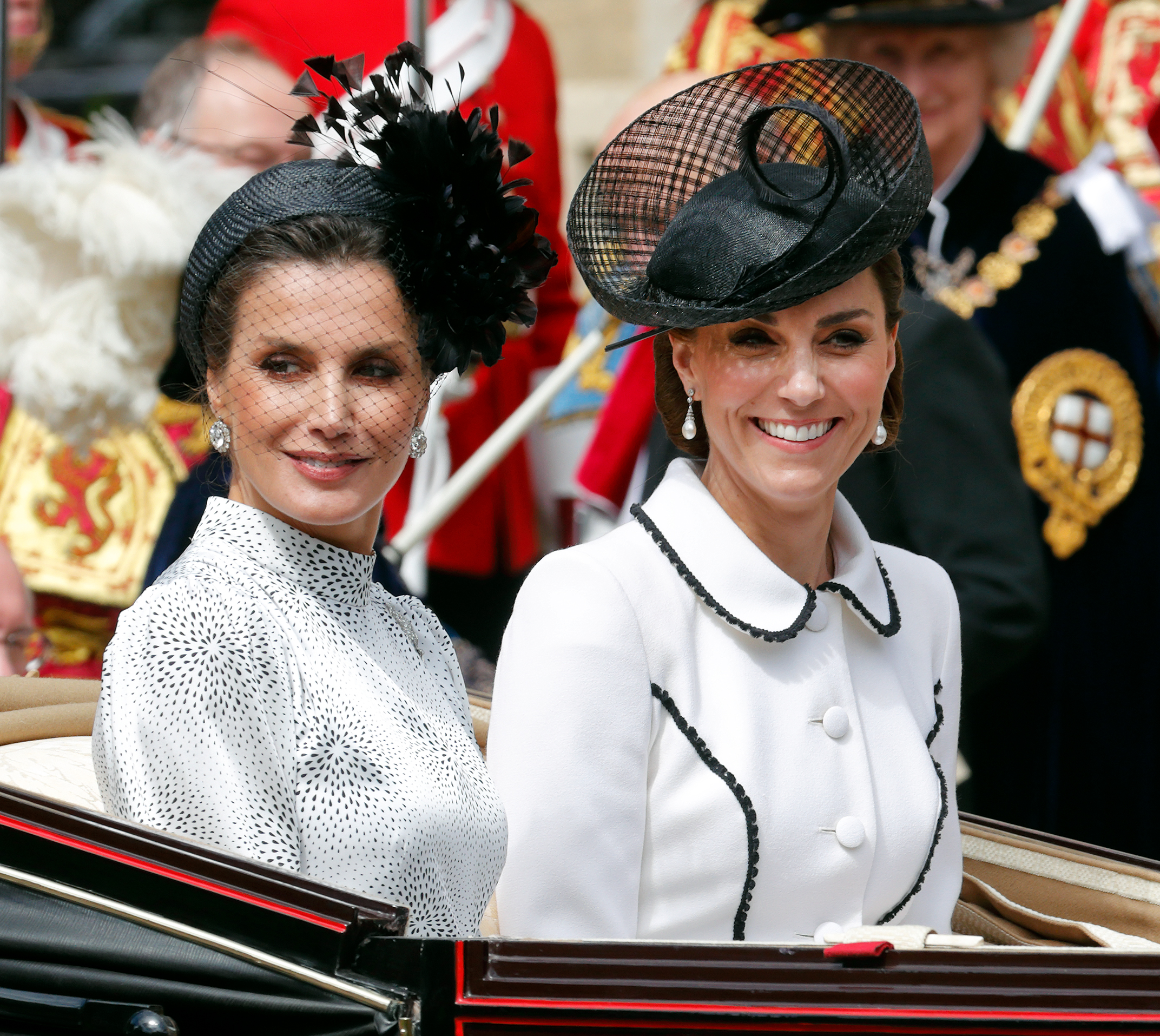 Letizia e Kate: look a confronto